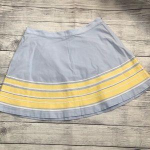 Vineyard Vines light blue skirt